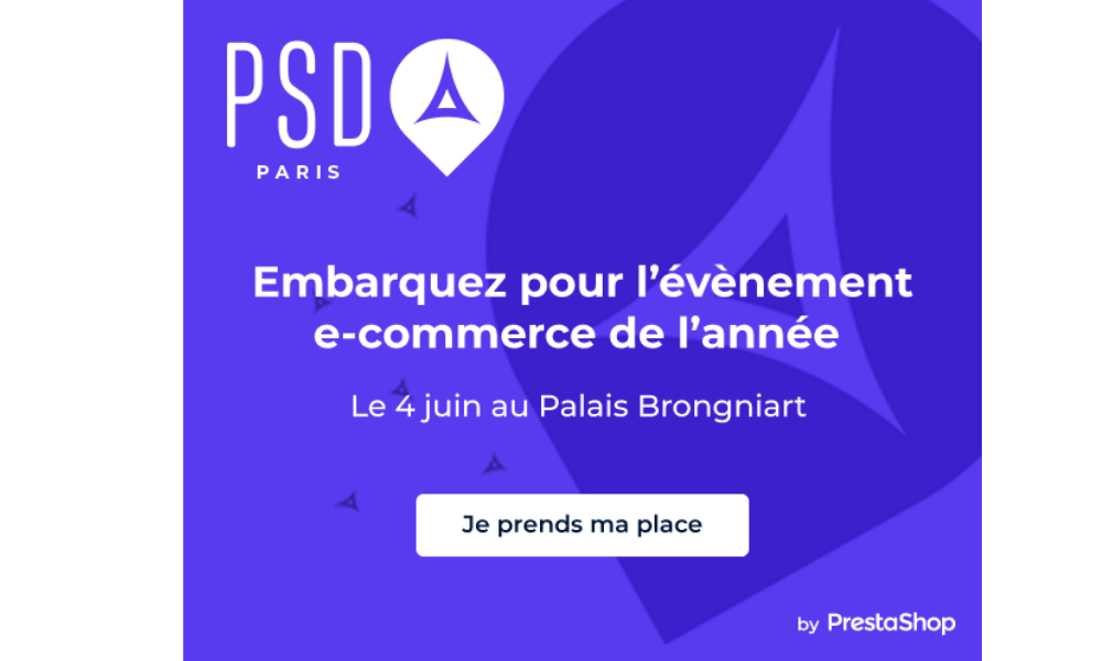psd paris evenement ecommerce